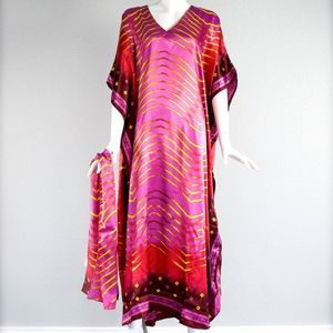 1980's Ashro Caftan and Scarf